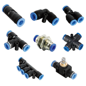 цена на Pneumatic Push In Fittings For Air Hose and Pneumatic connector  Tube Connector 4 to 16mm PU/PV/PY/PE/PM/PZA/PK/PA