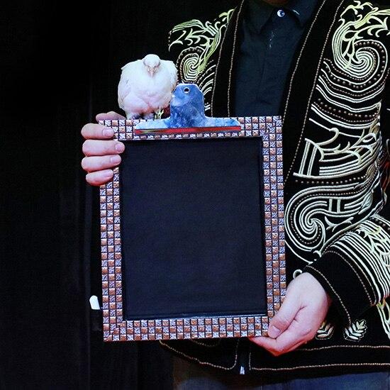 Objet du tableau noir-tours de magie de scène Illusions Gimmick Party Magic Show comédie magicien planche à dessin accessoires disparaissant