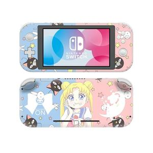 Image 2 - Adesivo de pele para nintendo switch, capa decalque de anime sailor moon nintendo switch lite