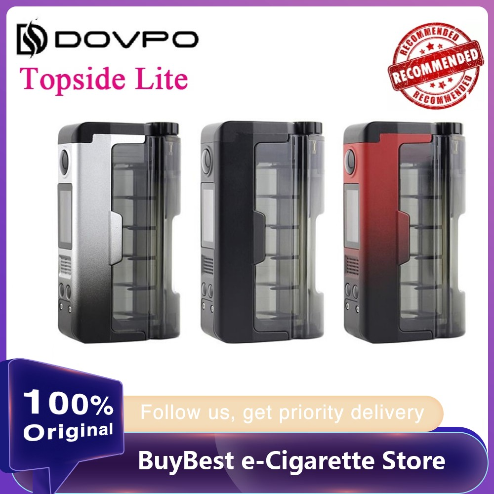 Original Dovpo Topside Lite 90W TC Squonk Mod Wi/ 0.96inch OLED Screen Max 90W Output E-cig Vape Mod Vs Drag 2/Topside Dual /Gen