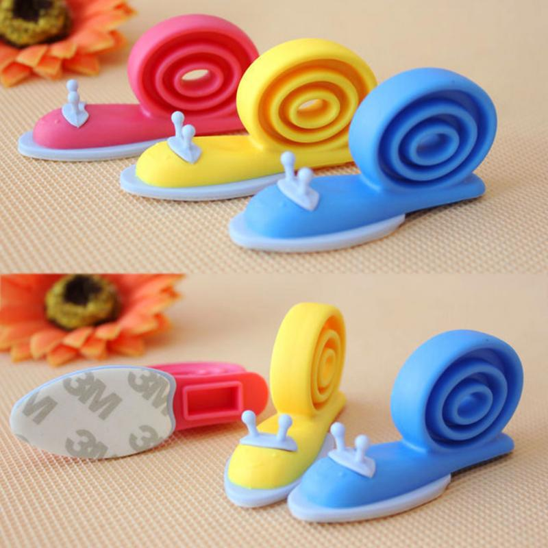 3Pcs/Lot Baby Newborn Care Child Lock Protection From Children Protection Baby Safety Shock Absorbers Security Card Door Stopper