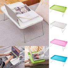 Produto de venda superior cama com mesa portátil preguiçoso pequena tabela estudante dormitório mesa dobrável suporte atacado dropshipping