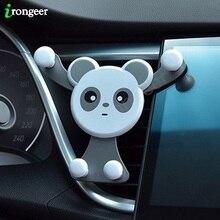 Автомобильный держатель для телефона Gravity, крепление на вентиляционное отверстие, держатель сотового смартфона для iPhone XR, Samsung, Huawei, автомобильный мобильный телефон, подставка, GPS