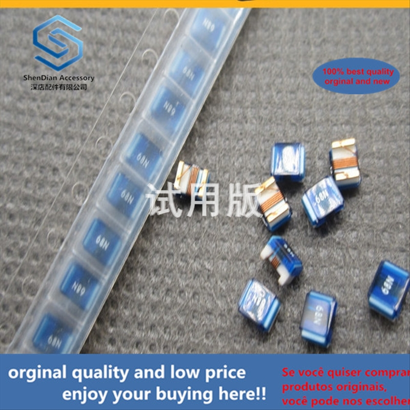 50pcs 100% Orginal New Best Quality FHW1210HC068JGT SMD Ceramic Wound Inductor 1210 3225 68nH 900mA