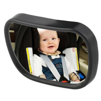 Universal Adjustable Car Rear Seat View Mirror Child Safety With Clip Sucker image