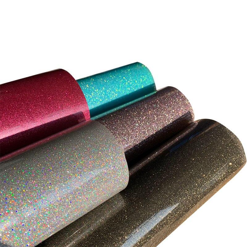 30 см x 100 см красивый цветной Блестящий теплопередающий виниловый пленочный тепловой пресс режущий плоттер Железный На HTV пленка