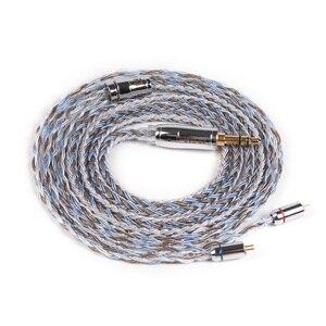 Image 3 - KBEAR kapsamlı 16 çekirdekli gümüş kaplama kablo 2.5/3.5/4.4mm yükseltme dengesi kablosu MMCX/2pin/QDC/TFZ için KB06 HI7 ZSX C10 C16