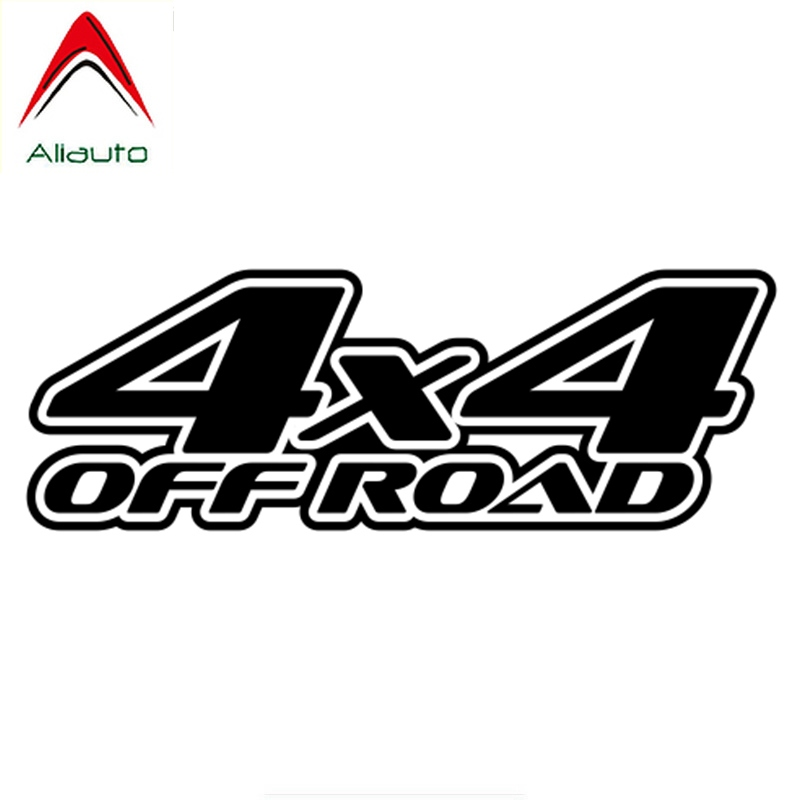 Aliauto Personality Car <font><b>Sticker</b></font> <font><b>4x4</b></font> <font><b>Off</b></font> <font><b>Road</b></font> Auto Decorative Waterproof Vinyl Decal for Mitsubishi Lada Jeep JDM Polo,28cm*10cm image