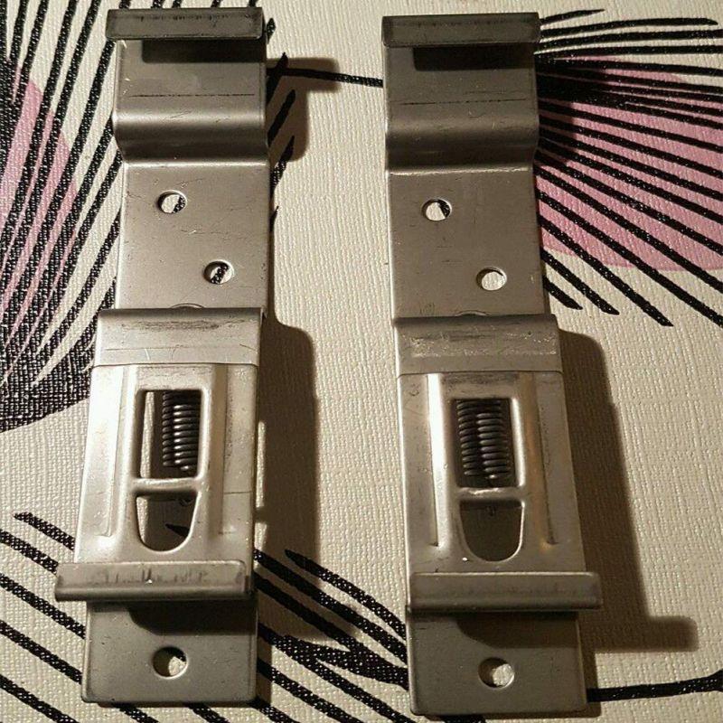 Universal  2pcs License Plate Frame Holder Stainless Steel Bracket Car Exterior Accessories