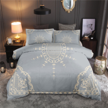 Luxury Bedding Set Classic European Duvet Cover Skin-friendly Quilt Bedclothes Pillowcase Queen King