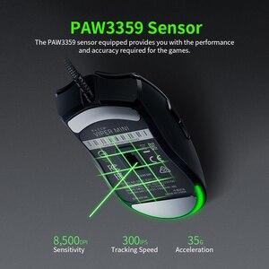 Image 5 - Original Razer Viper Mini 61g Leichte Verdrahtete Maus 8500DPI PAW3359 Optische Sensor RGB Gaming Maus Mäuse SPEEDFLEX Kabel