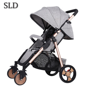SLD stroller and easy folding can carry high quality free shipping on the plane to Russia(China)