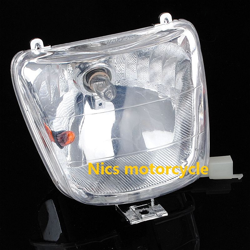 Red Plastics Cover Kit Seat Headlight For 50 70 110cc Quad Dirt Bike ATV