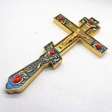 Jesus cruz igreja ortodoxa cristã utensílios decoração católica religiosa