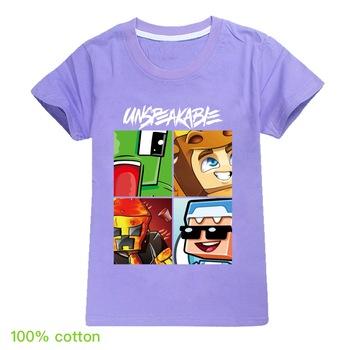 Odzież dla dzieci chłopcy drukuj koszulki dla dzieci koszulki dla dzieci ubrania dla dziewczynek śmieszne koszulki kostiumy topy nowa koszulka bawełniana nastoletnie lato tanie i dobre opinie DGFSTM COTTON Aktywny List REGULAR O-neck Tees Krótki Pasuje prawda na wymiar weź swój normalny rozmiar Unisex 2030-365