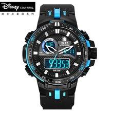 Disney Star Wars Kids Sport Watch Waterproof Wristwatch LED