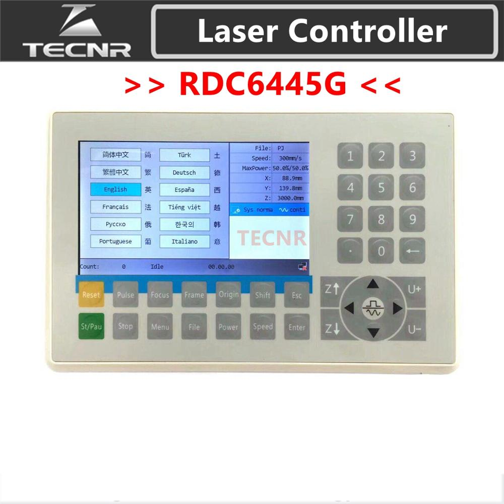 Ruida RDC6445G Panel Mother Board Co2 Laser DSP Controller For Laser Engraving And Cutting Machine