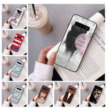 Best Friends King Queen Couple Pattern TPU Soft Phone Case for Samsung S10 E S9 plus S6 edge plus S7edge S8plus S10 plus S5(China)
