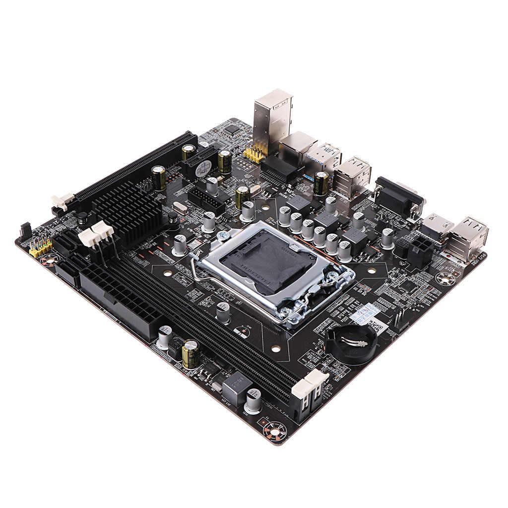 Yeni B75-1155 anakart Intel masaüstü bilgisayar soket 1155 anakart DDR3 LGA 1155 Intel dayanıklı bilgisayar aksesuarları