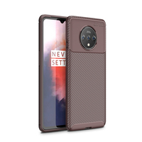 style protective For Oneplus 7T Case Business Style Silicone Rubber Shell Coque Back Phone Cover For Oneplus 7T Protective Case For Oneplus 7T (4)