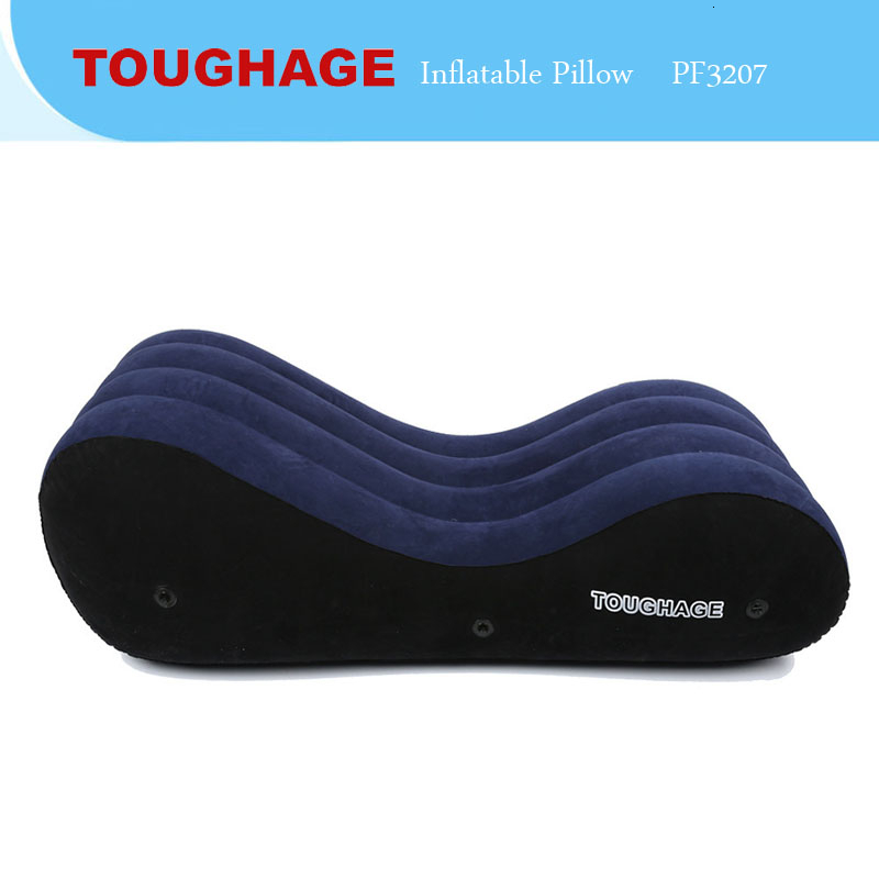 Size Large Inflatable <font><b>Sex</b></font> Furniture Position <font><b>Pillow</b></font> Cushion Chair Sofa BDSM <font><b>Sex</b></font> Toys For Couples <font><b>Air</b></font> Blow Body Support Pads image
