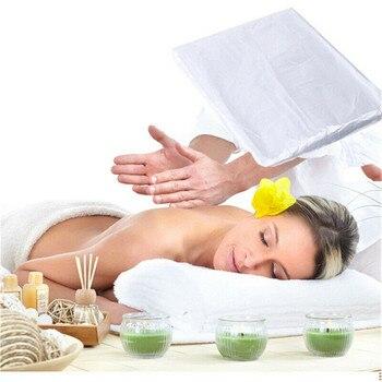 200 Uds funda de sofá para mesas de masaje cama tratamiento de belleza encerado protección sofá cubierta para baño Shapoo belleza sofá cubierta g2