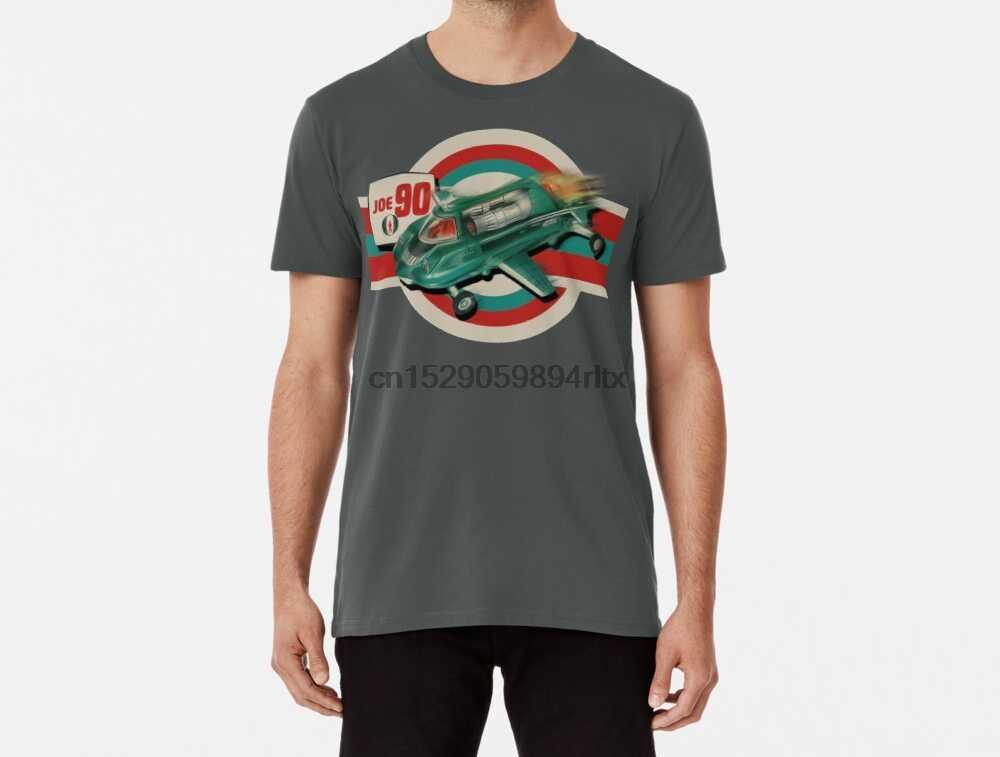 Мужская футболка Funy винтажная Joe 90 Dinky Toy дизайн от моторика женские футболки