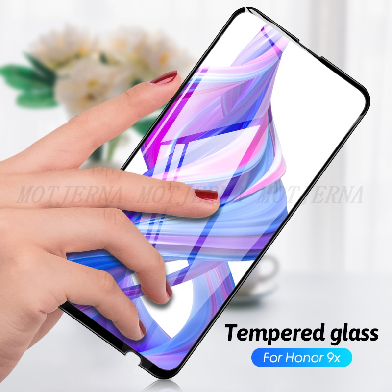HD Full Cover Tempered Glass for Huawei Honor 9X Pro 8X 9 Lite Phone Screen Protector for Honor 10 Lite 10i 20i 20 Pro Glass