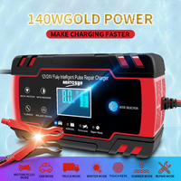 Multi-Functionele Auto Batterij Oplader Intelligente Emergency Charger Auto Motorfiets 12v24v Volt Batterij Smart Reparatie Lader