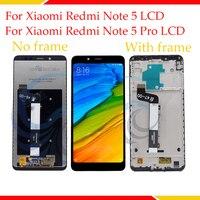 100% getestet LCD Display Screen Für Xiaomi Redmi Hinweis 5 LCD Display Mit Touch Screen Komplette Montage Für Redmi Hinweis 5 Pro-in Handy-LCDs aus Handys & Telekommunikation bei
