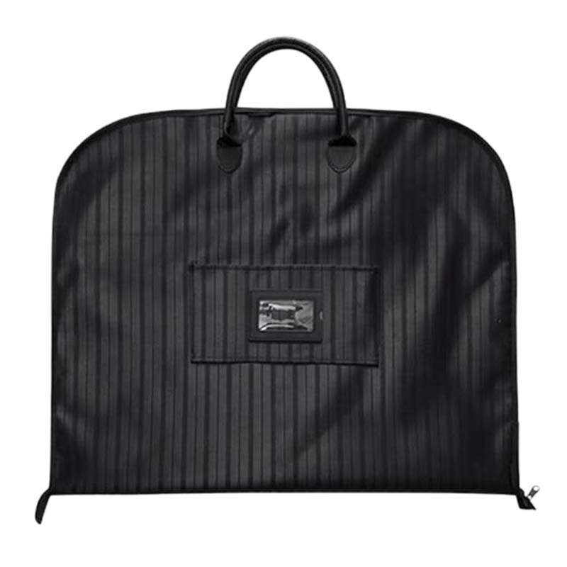 Travel Bags for Suits Black Oxford Garment Bag with Handle Business Men Travel Handbags Weekend Clothes Bags|Clothing Covers| |  - title=