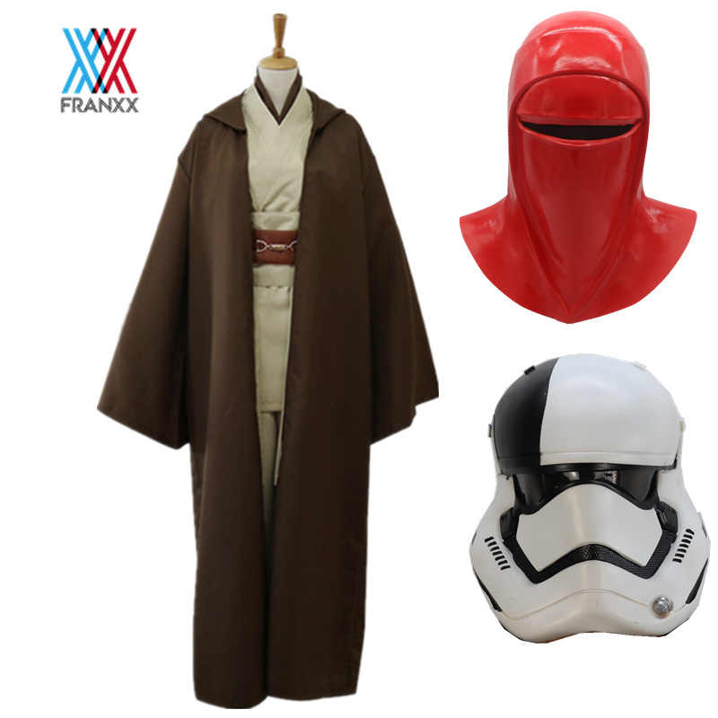 Volwassen Star Wars Jedi Knight Cosplay Kostuum Foelie Windu Overhemd Gewaad Uniform Masker Anakin Skywalker Mantel Ahsoka Tano Halloween Mannen