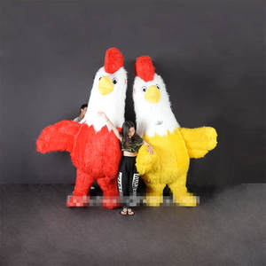 Costume-Suits Mascot Cosplay Xmas Outfits Dress Rooster Advertising Carnival-Halloween