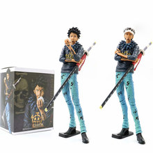 28cm One Piece Trafalgar Law Action Figure Grandista -The Grandline Man Trafalgar Law Animation Hand-made Toys PVC Model Doll(China)