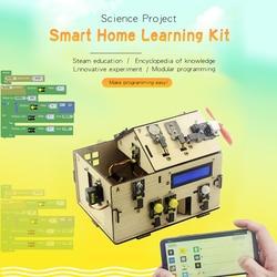 Kit de casa inteligente KeyStudio con tablero PLUS para Arduino DIY STEM