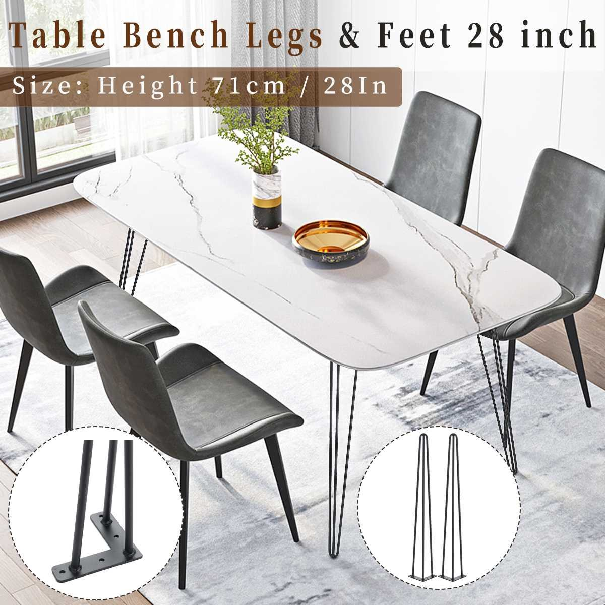 2pcs Square Shaped Coffee Table Legs Metal Table Desk Legs Nordic Style Furniture Legs Diy Handcrafts Furniture Accessories Super Promo Bfe7 Cicig