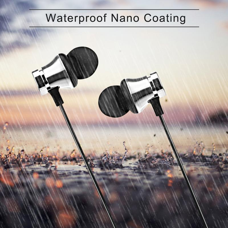 Sports Magnetic Earphones Wireless Bluetooth Earphone Stereo Bass Music Earpieces with Mic Earphone For S8 For Mobile Phone