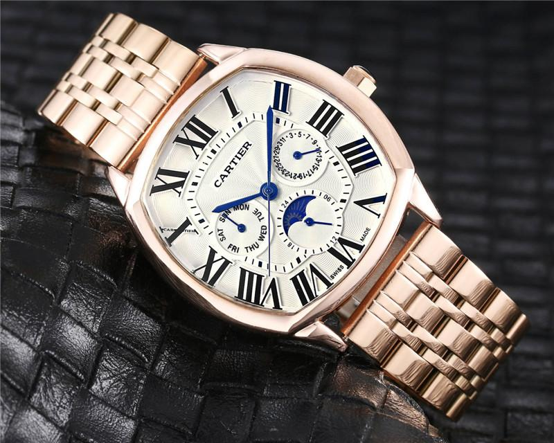 NEW Luxury Brand Mechanical Wristwatch Mens women Watches Quartz Watch with Stainless Steel Strap relojes hombre automatic 2331
