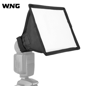 15x17cm Softbox Reflector Flash Diffuser Foldable Mini Photography Accessories Soft Box Kit Studio Light for Canon Sony Camera