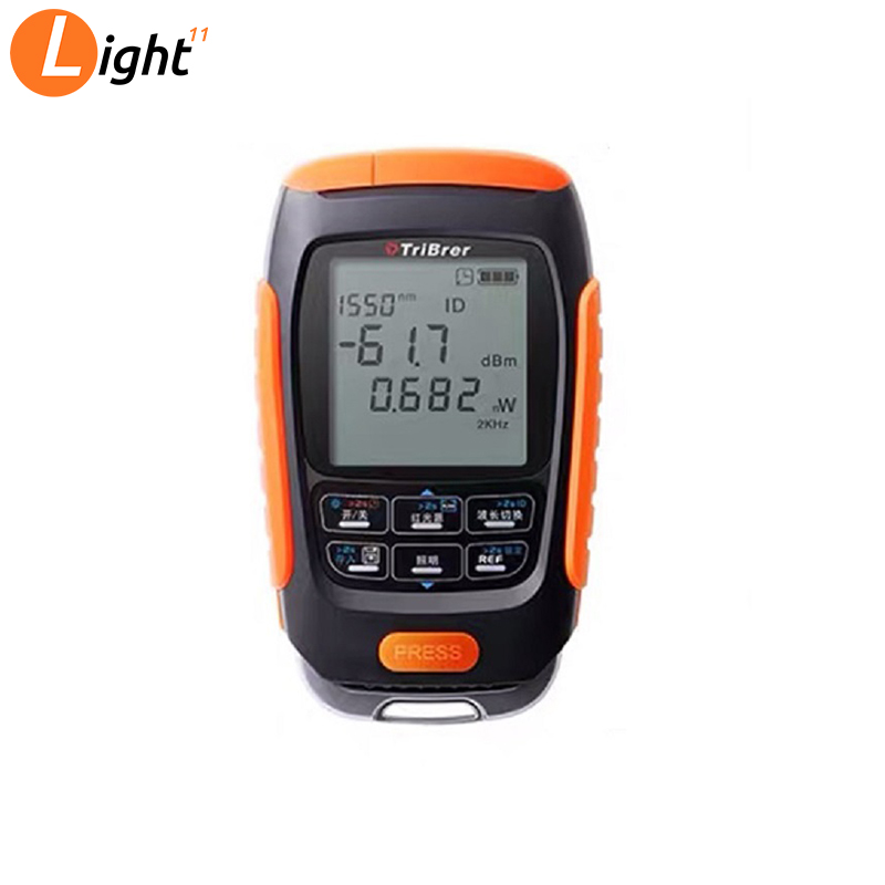 4 In 1 VFL Multifunction Mini Optical Power Meter 30MW Visual Fault Locator Network Cable Test Optical Fiber Tester 5km 15km