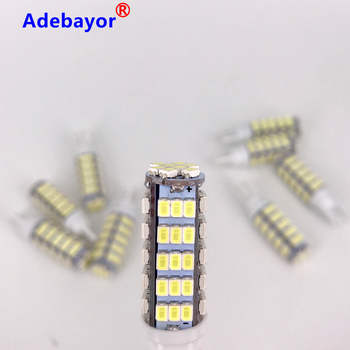 100X T10 Led 194 168 1206 68 SMD Car Light Bulbs White 544Lm Interior Lighting Reading Clearance Lamp 12V Automobile