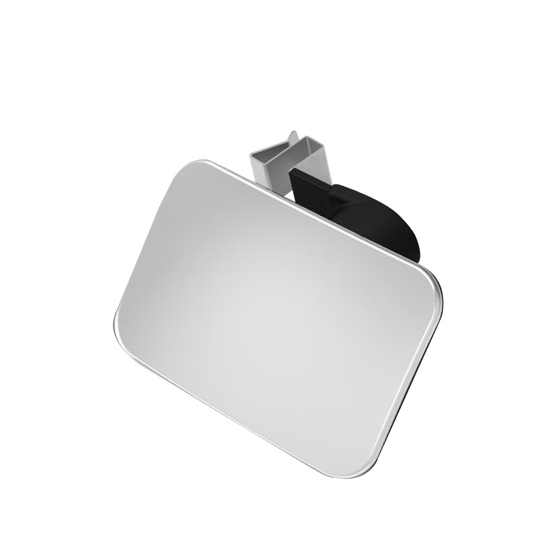 Car Front and Rear Wheel Blind Spot Small Round Mirror 360 Degree Adjustable Wide-angle Rearview Mirror Auxiliary Auto Mirror