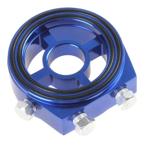 kit adaptador de aluminio para filtro de oleo kit com filtro de aluminio para medicao