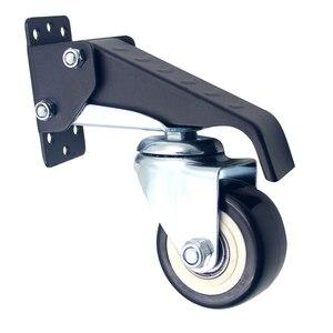 Image 4 - Ruedas móviles rueda de alta resistencia step down 360 grados giratoria mesa de trabajo Universal accesorios muebles Hardware duradero