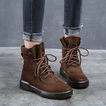 Женские зимние высокие ботинки tilocow на платформе дамская