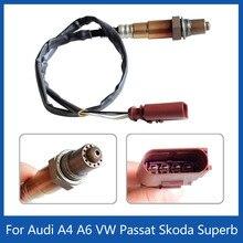 Audi A4 A6 용 VW Passat Wagon Skoda 탁월한 O2 람다 프로브 산소 센서 0258006305 0258006306 058906265V 058906265C