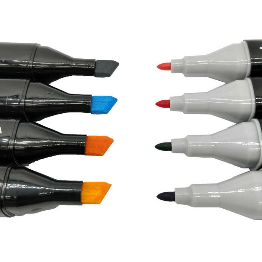 30/40/60/80 Цвет маркер для рисования набор двуглавый художественный эскиз жирной на спиртовой основе маркеры для анимации Manga