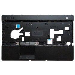 Novo escudo do portátil para dell latitude e6520 palmrest capa superior com touchpad 07ttw6
