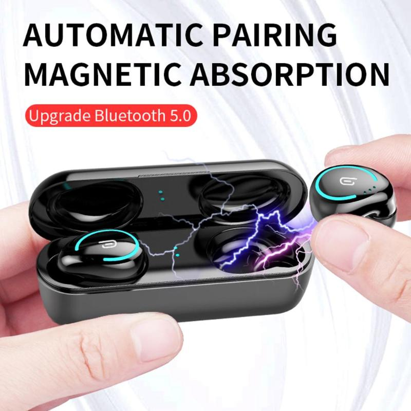 Hot Sale Earphones Skillful Manufacture <font><b>I8</b></font> <font><b>TWS</b></font> Wireless <font><b>Bluetooth</b></font> 5.0 Binaural In-ear Earbuds Headset with Charging Box image