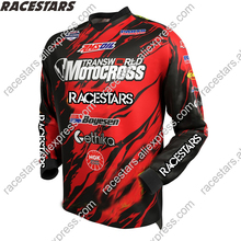 RACESTARS Motocross Jersey maillot ciclismo downhill mtb Jerseys Moto Motorcycle Mountain Bike moto Jersey BMX DH TShirt Clothes custom sublimation print men women downhill dh jersey customized mtb mountain bike motocross motorcycle bmx jerseys no minimum